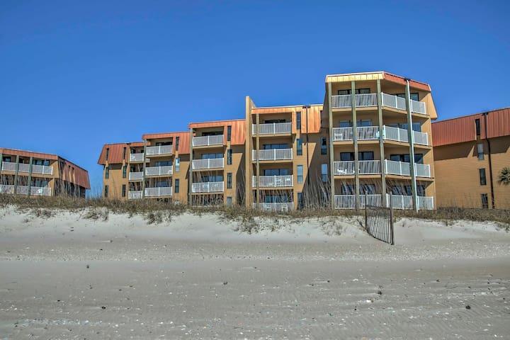 NEW! 2BR North Topsail Beach Condo w/Ocean Views - North Topsail Beach - Kondominium