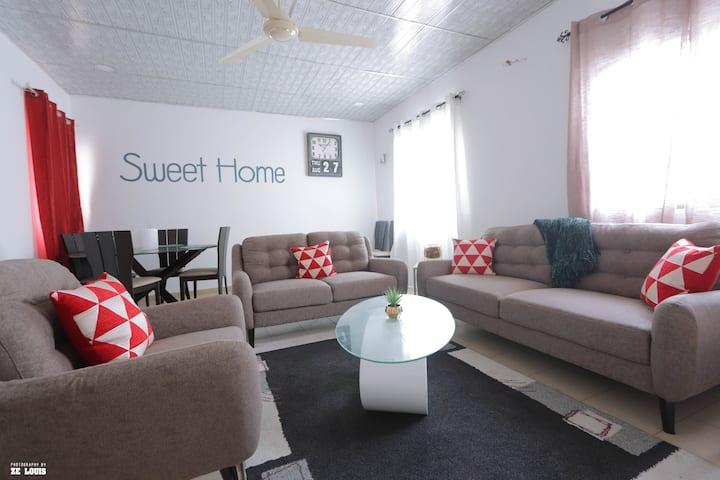 Magnifique appartement de deux chambres à Lomé