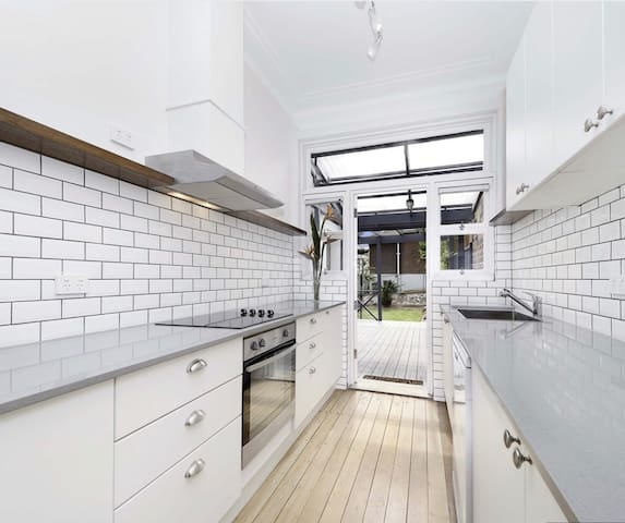 Large kitchen with all the mod-cons