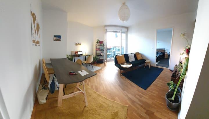 Charmant appartement proche de Paris et Vincennes