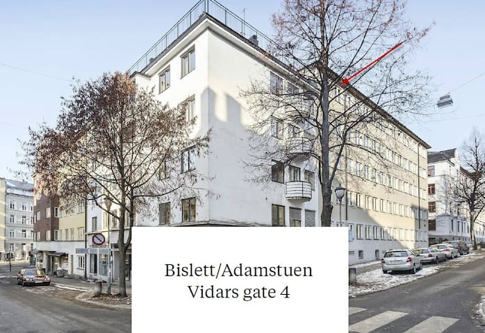 Central apartment in the heart of Oslo - Bislett
