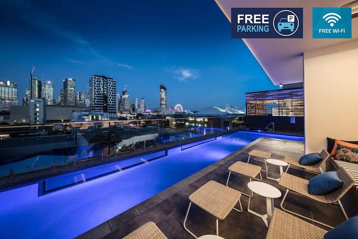 South Brisbane High Level  River View Apartment
