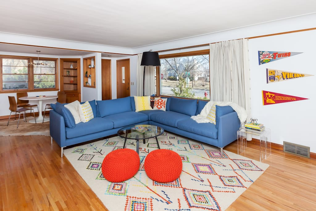 Tillie's Haus is fully furnished with a Nordic modern influence.