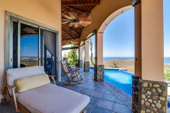 Rancho Santana Oceanview, private pool, near beac