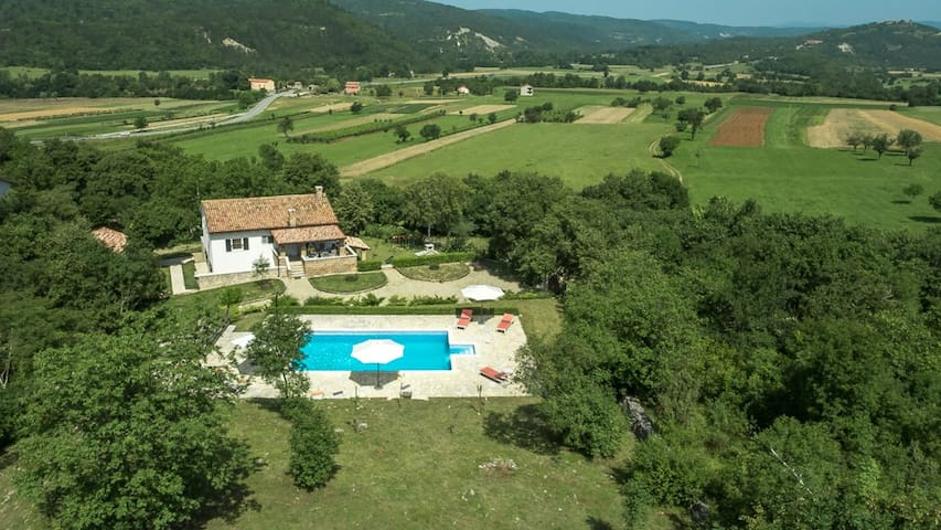 Pitoresque Villa Boljunčica  - Boljun - Casa de campo