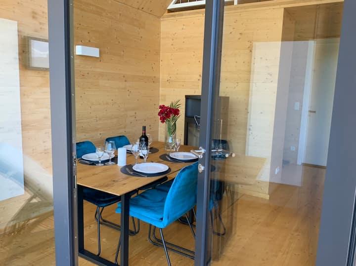 Ferienhaus Hollergrund Zuhause mit Aussicht