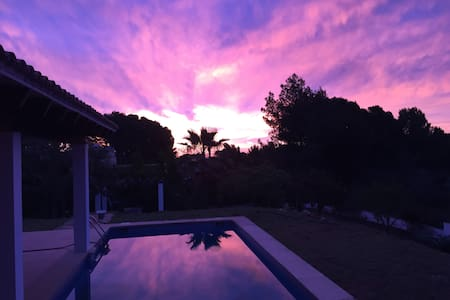 Cozy Villa with private pool and lush garden - Sol de Mallorca - Vila