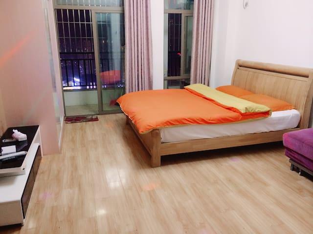 博士后精致大床房 - Fuzhou - Apartment