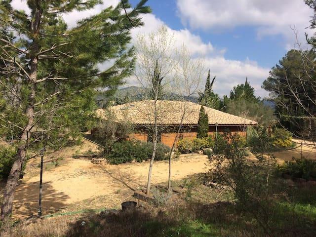 CasaMadera entre viñedos en Terres dels Alforins - La Font de la Figuera - Huvila