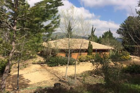 CasaMadera entre viñedos en Terres dels Alforins - La Font de la Figuera - วิลล่า