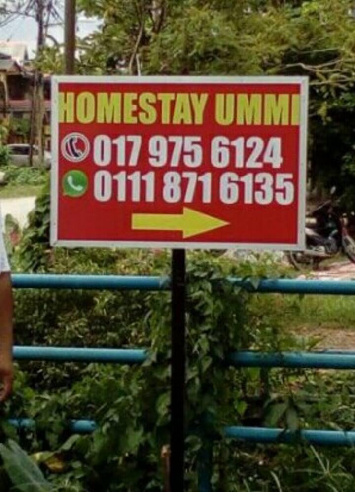 HOMESTAY  UMMI,LEMBAH SIREH KOTA BHARU,KELANTAN.