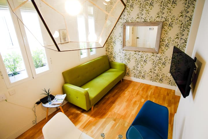 Design apartment in the center of Madrid