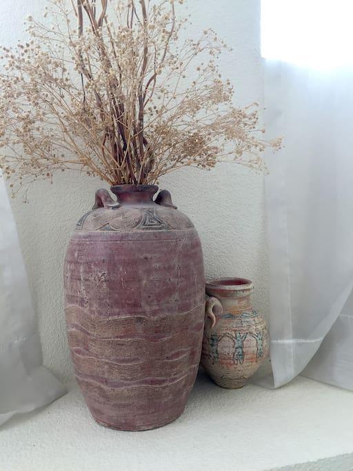 My African vases