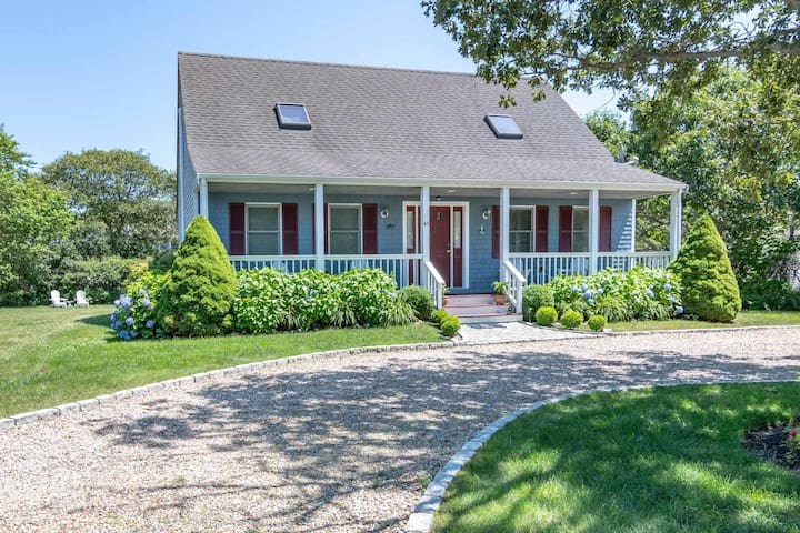 Charming Cape House in Katama, Edgartown, MV.