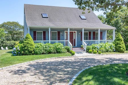 Charming Cape House in Katama, Edgartown, MV.