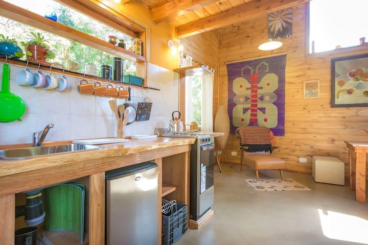 Wood cabin near Cerro Catedral Ski Resort - San Carlos de Bariloche - Cabin