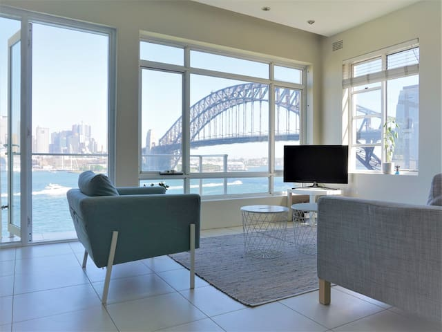 180° Harbour View from the Living Room