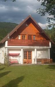 Wyjątkowy domek nad Popradem