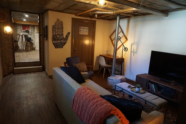 Prohibition Era Speakeasy Apartment