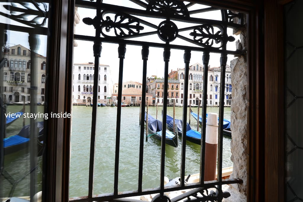 unity#1: Grand Canal view from the apartment