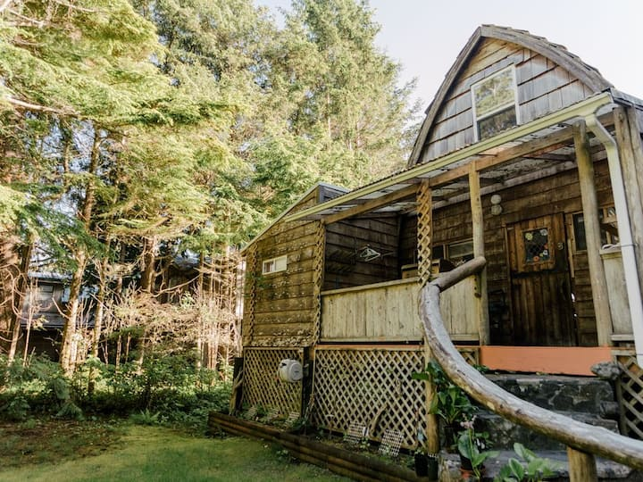 Michel's Cabin, Tofino B.C.