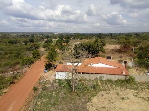 Suíte em sítio na área rural de São Benedito, CE