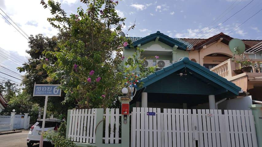 Turquoise 1: BR+garden+kitchen+++near DMK Airport