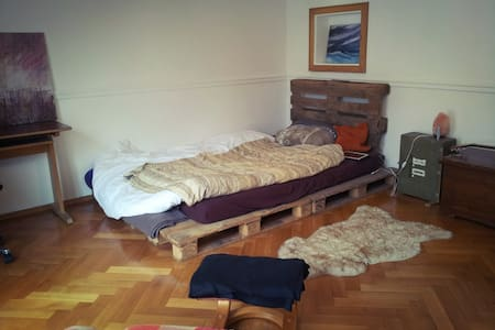 Schönes u. helles Zimmer zwischen Uni und Altstadt - Ratisbona