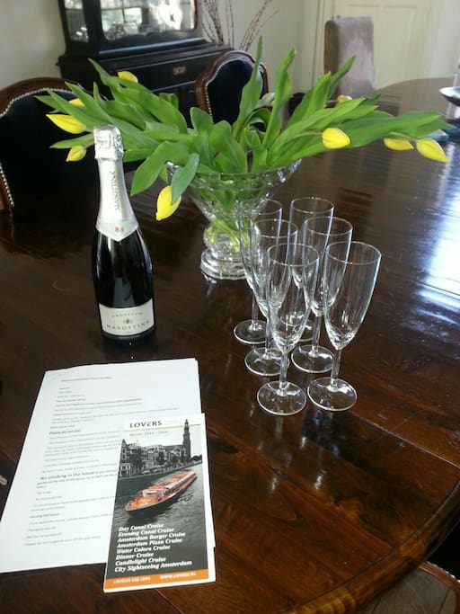 We wish you Welcome at the Bloemgracht!