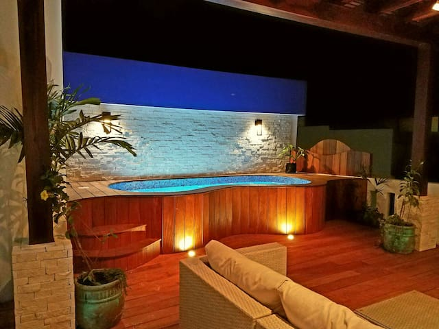 Tulum Town 3 Bed/3 Bath PH: Private HEATED Jacuzzi