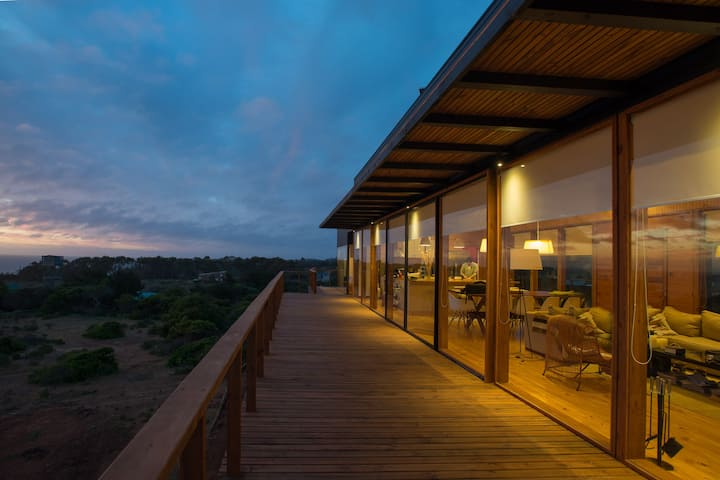 Stylish Beach House in Pure Nature