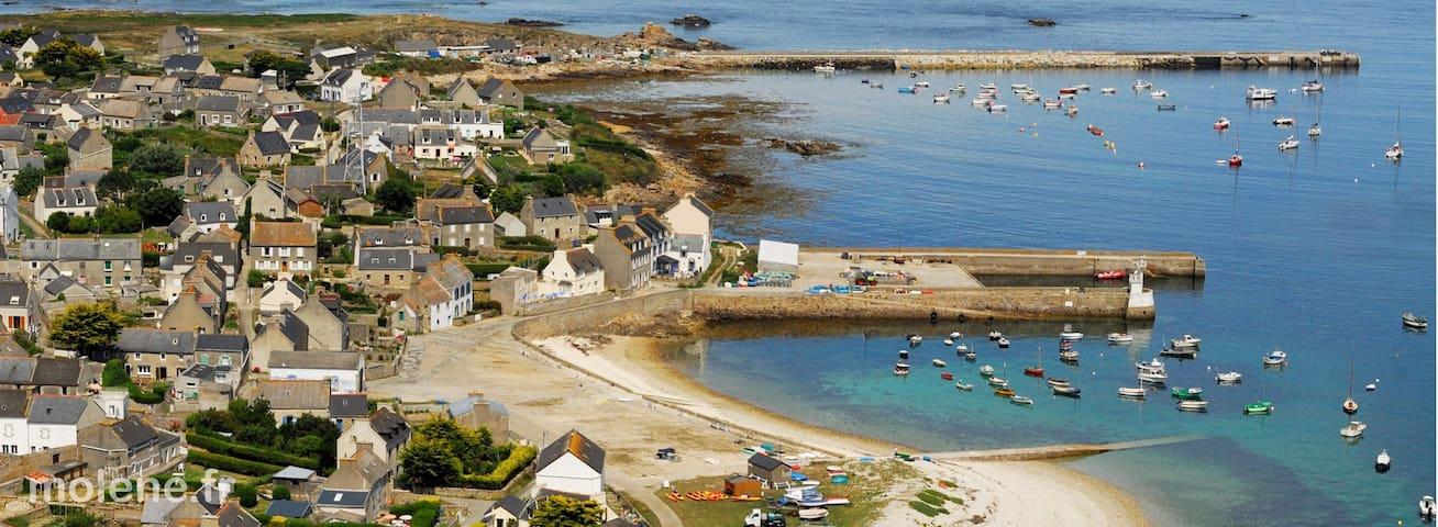 Chez Claudine et Denis - Île-Molène - Domek gościnny