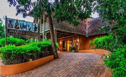 Amazulu Lodge. Luxury in an All-African Ambiance