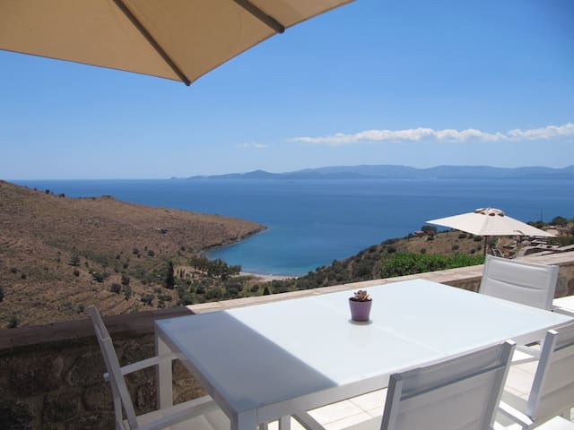 Brand New Maisonette with Stunning Views - Aegina - Flat