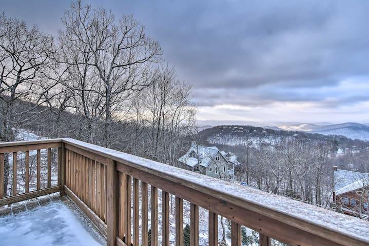 NEW! Spacious Retreat w/ Hot Tub & Mountain Views!