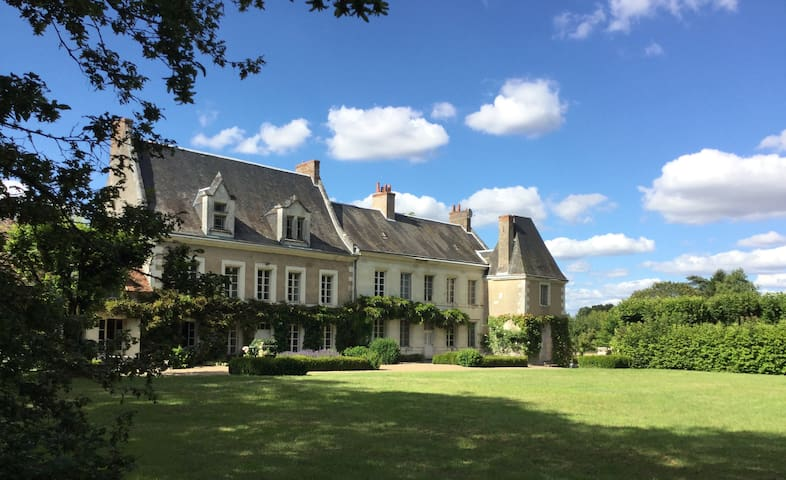 Vallée de la Loire. Manoir de charme - Pontlevoy - Huis