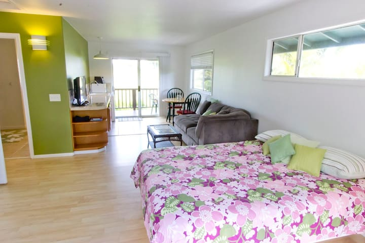 Private Studio; Budget Friendly; Tropical Home! - Haiku-Pauwela - Apartamento