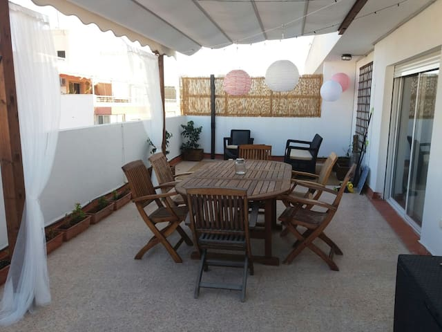 Big terrace Penthouse - La Vila Joiosa - Apartament