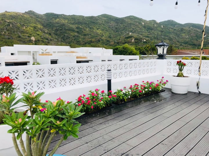 Yumi Oceanami Villa-3brs*Nice Terrace Beach View