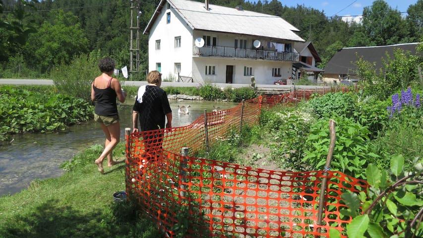 small, lovely, peacefull village - Plitvički Ljeskovac - House