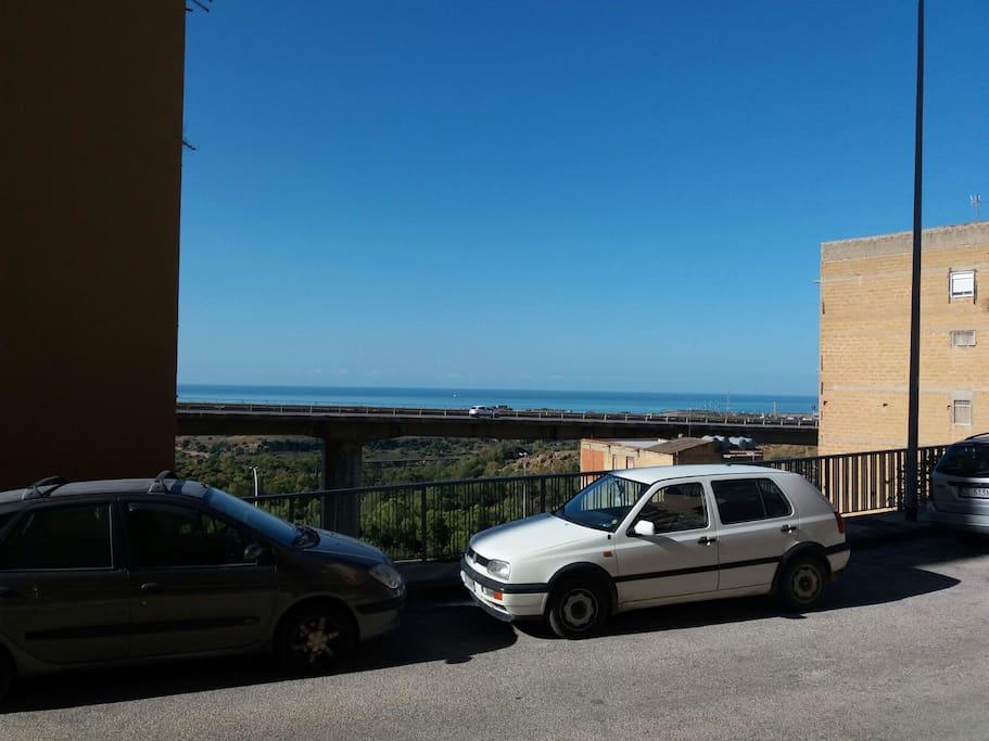 vista mare dalla casa vacanze Valle dei templi