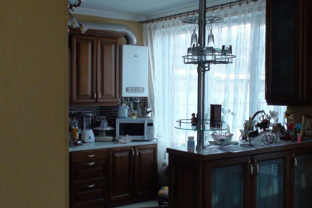 kitchen-studio room