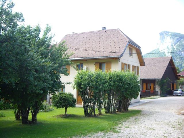 maison de montagne savoie - Saint-Pierre-d'Entremont - Hus