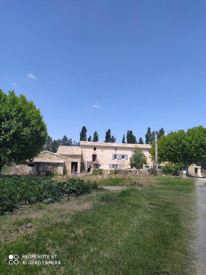 Mas des Maraîchers, Drôme Provençale, 6/8 pers