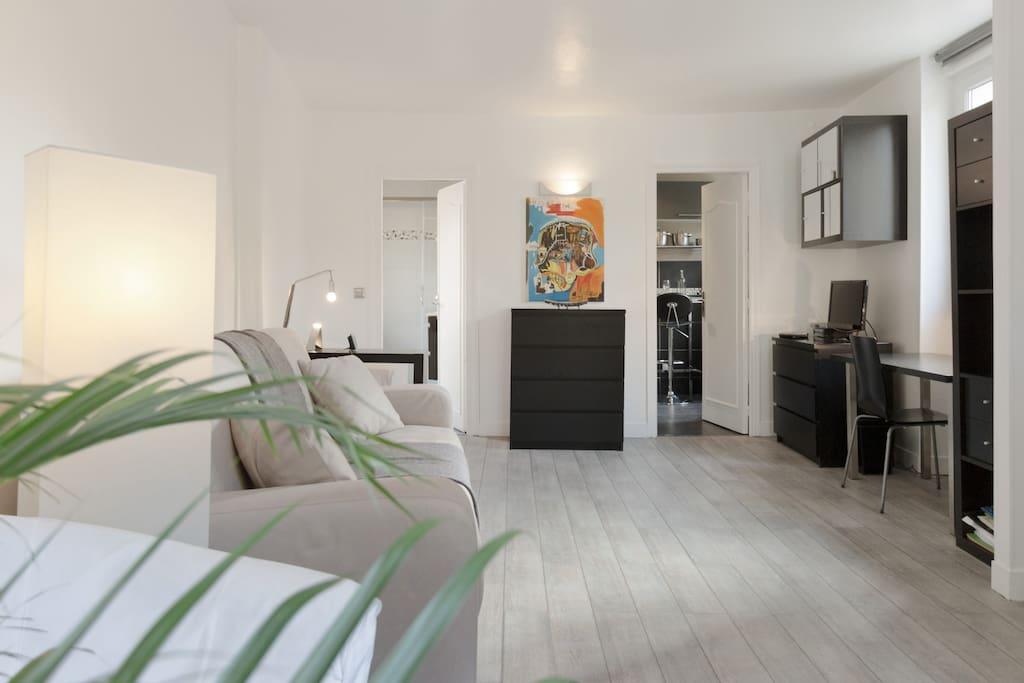 Nice studio montparnasse paris appartements louer paris le de france - Airbnb paris montparnasse ...