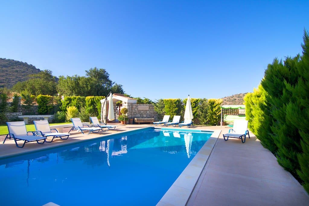 Wonderful pool for an afternoon or evening swim.