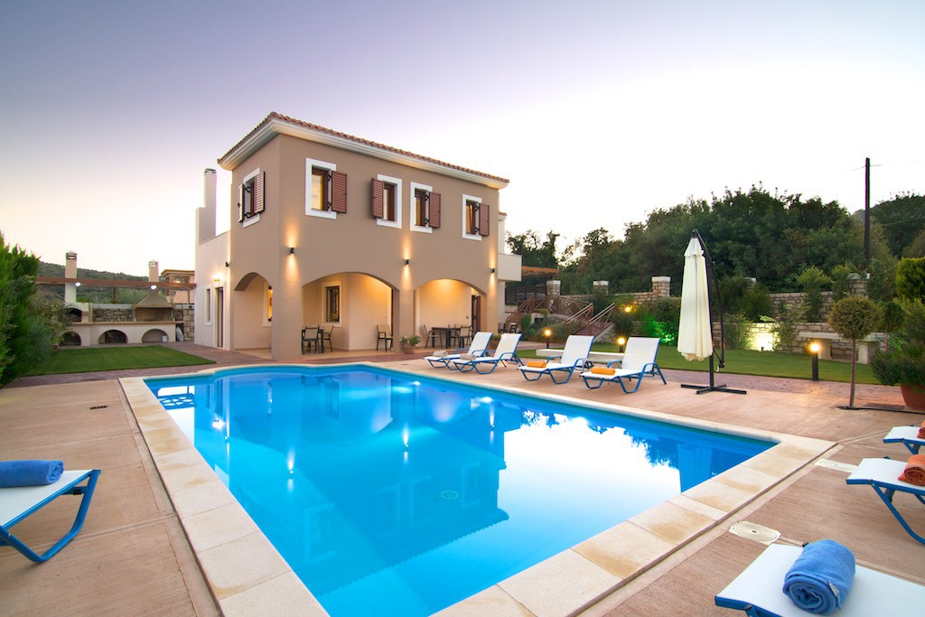Beautiful villa with private pool - Melidoni