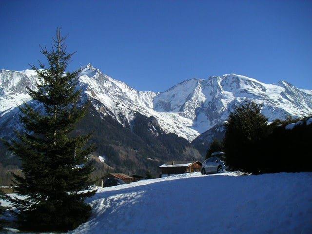 Chalet Des plans Vue exceptionnelle Mont-Blanc - Saint-Gervais-les-Bains - Almhütte