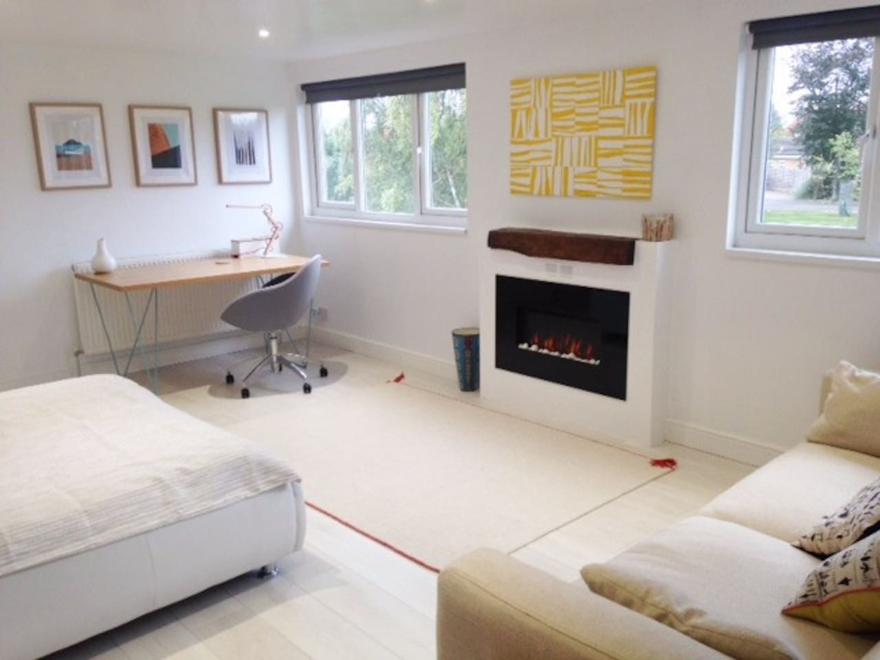 stylish loft 5 minutes walk to bicester village houses for rent