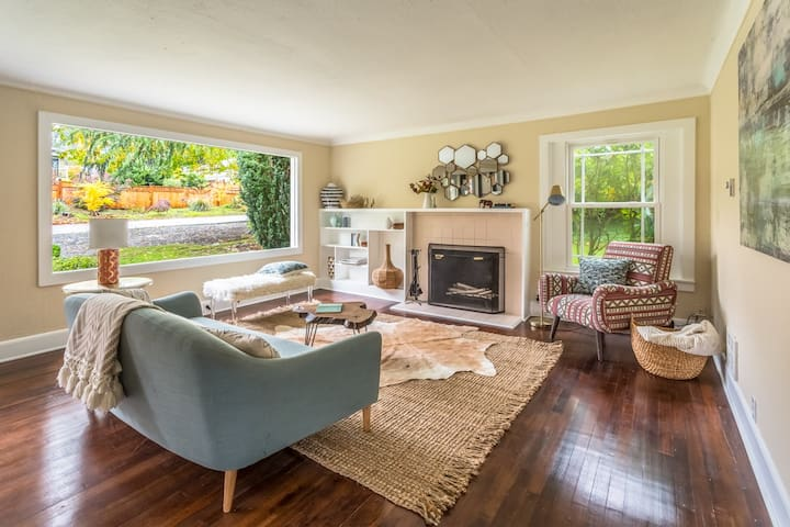 Cute Quiet Edmonds Home In Fantastic Neighborhood - Edmonds - Huis